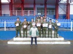 Лесосибирские кадеты стали победителями в Краевой спартакиаде молодежи